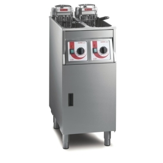 FriFri Twin Tank Freestanding Fryer - 650125