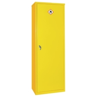Hazardous Substance Cabinet - Slimline Single Door