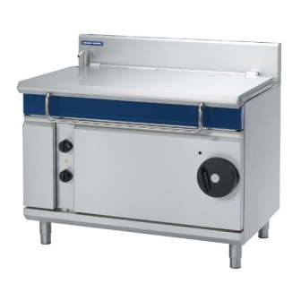 Blue Seal Evolution E580-12 Electric Tilting Bratt Pan Manual Tilt Mechanism  -  120Ltr