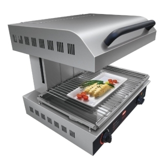 Hatco TMS-1 Rise & Fall Salamander Electric Grill - 4KW