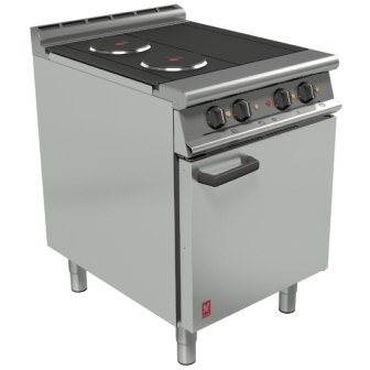 Falcon E3161 Dominator Plus 3 hotplate Electric Oven Range 600mm Wide