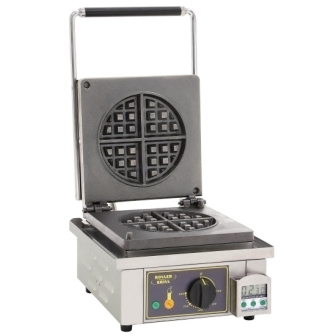 Roller Grill GES75 Single Round Waffle Maker