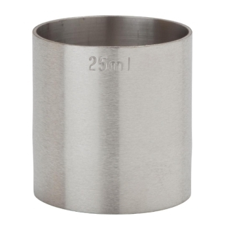 Thimble Measure St/St - 25ml CE