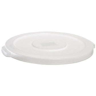 Rubbermaid Round Brute Lid White - 37.9Ltr