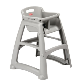 Rubbermaid Sturdy Chair Youths Seat Platinum