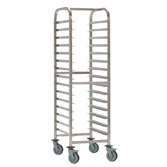 Bourgeat Racking Trolley (600x400mm) - 20 Levels