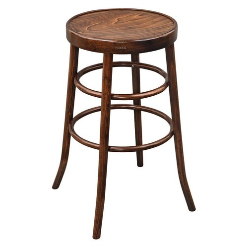 Fameg Bentwood Bar Stool - Walnut Effect