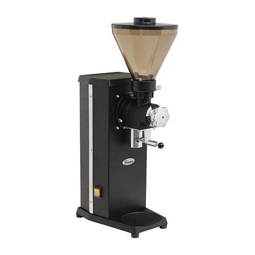 Santos Shop Coffee Grinder with bag holder