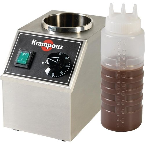 Krampouz Electric Topping Warmer - 1 Bottle