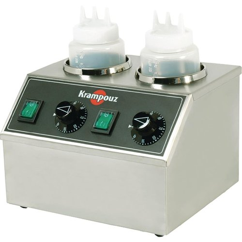 Krampouz Electric Topping Warmer - 2 Bottles